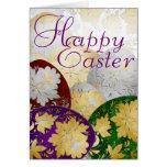 Easter Egg Card 20 - Russian Folk Art