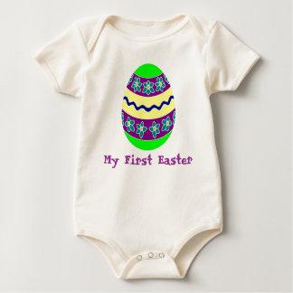 Easter Egg Chic Baby Bodysuit