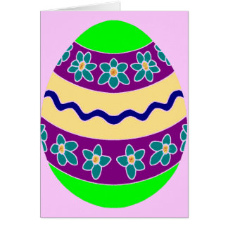 Easter Egg Chic Card