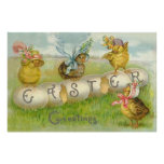 Easter Egg Chick Field Poster