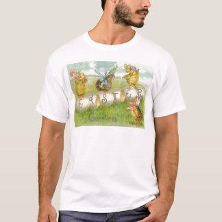 Easter Egg Chick Field T-Shirt
