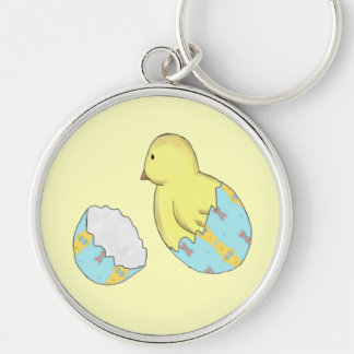 Easter Egg Chick Surprise Keychain