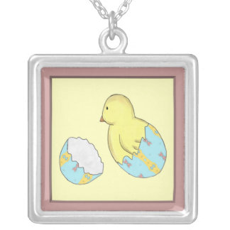 Easter Egg Chick Surprise Necklace