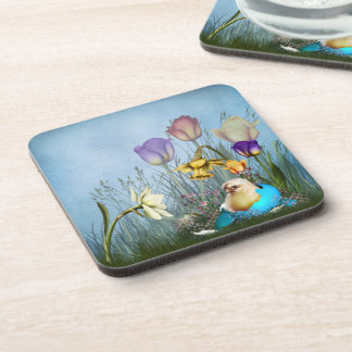 Easter Egg Chicken Coasters (set of 6)