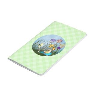 Easter Egg Chicken Pocket Journal