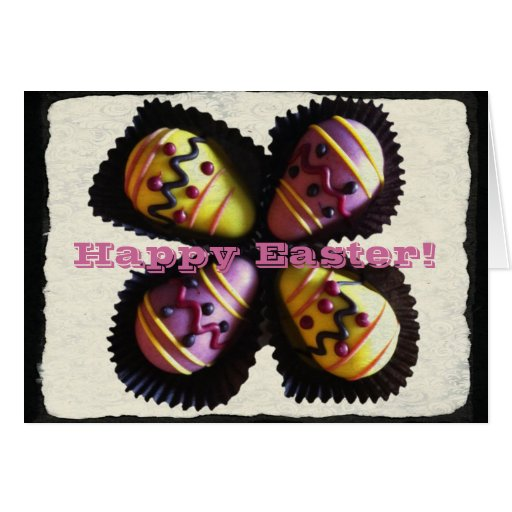 Easter Egg Chocolates Card