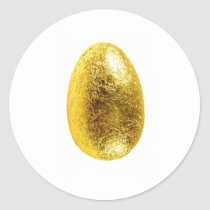easter egg classic round sticker