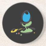 Easter Egg Coloring Drink Coaster
