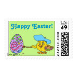 Easter Egg Coloring Postage Stamp