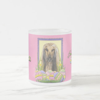 Easter Egg Cookies - Afghan Frosted Glass Coffee Mug