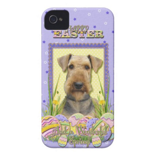 Easter Egg Cookies - Airedale iPhone 4 Case-Mate Case