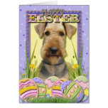 Easter Egg Cookies - Airedale Greeting Cards
