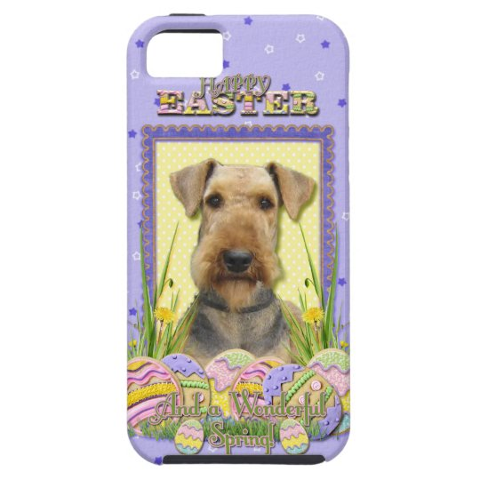 Easter Egg Cookies - Airedale iPhone SE/5/5s Case