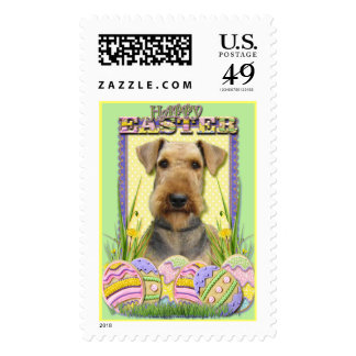 Easter Egg Cookies - Airedale Postage Stamp