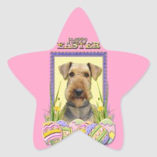 Easter Egg Cookies - Airedale Star Sticker