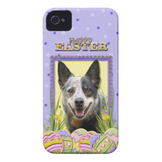 Easter Egg Cookies - Australian Cattle Dog iPhone 4 Case-Mate Case