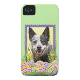 Easter Egg Cookies - Australian Cattle Dog iPhone 4 Cover