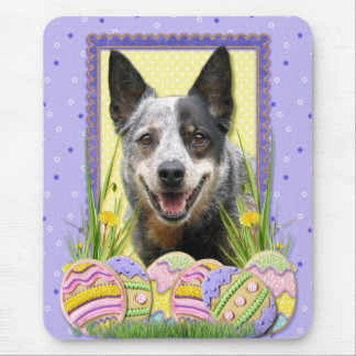 Easter Egg Cookies - Australian Cattle Dog Mouse Pad