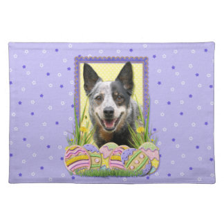 Easter Egg Cookies - Australian Cattle Dog Placemat