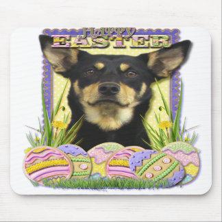 Easter Egg Cookies - Australian Kelpie Mousepads