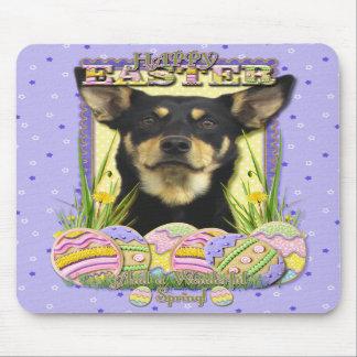 Easter Egg Cookies - Australian Kelpie Mouse Pads