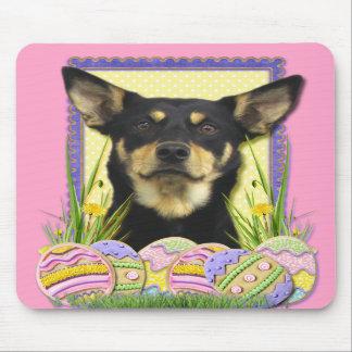 Easter Egg Cookies - Australian Kelpie Mousepad