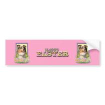 Easter Egg Cookies - Australian Shepherd Bumper Sticker
