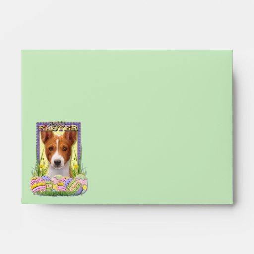 Easter Egg Cookies - Basenji Envelope
