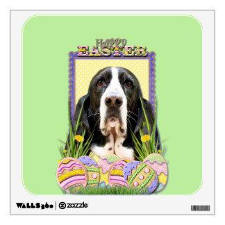 Easter Egg Cookies - Basset Hound - Jasmine Wall Decal
