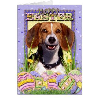 Easter Egg Cookies - Beagle Card