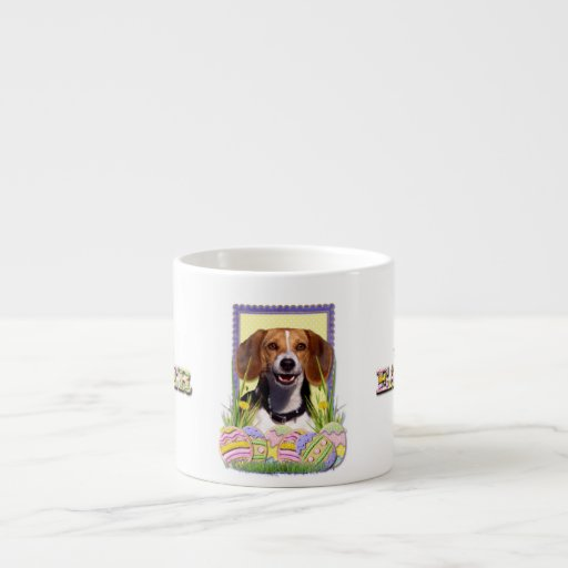 Easter Egg Cookies Beagle Espresso Cup