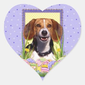 Easter Egg Cookies - Beagle Heart Sticker