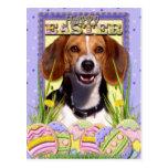 Easter Egg Cookies - Beagle Postcard