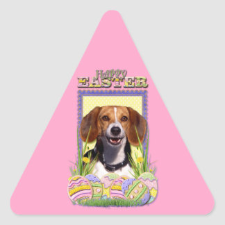 Easter Egg Cookies - Beagle Triangle Sticker