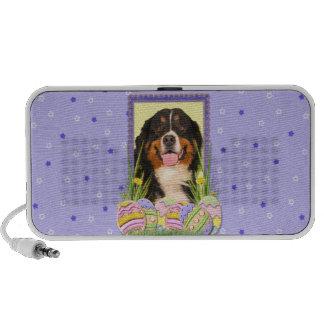 Easter Egg Cookies - Bernese Mountain Dog Mini Speaker