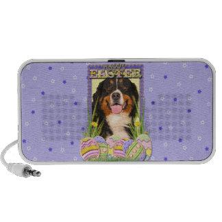 Easter Egg Cookies - Bernese Mountain Dog Portable Speaker