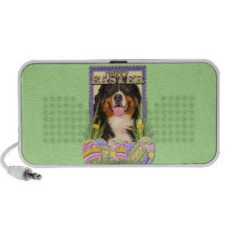 Easter Egg Cookies - Bernese Mountain Dog Notebook Speaker