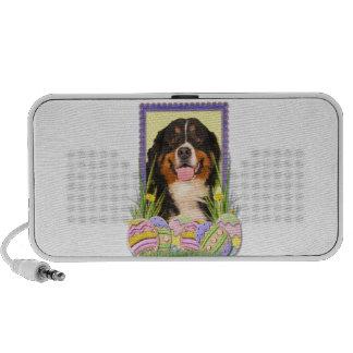 Easter Egg Cookies - Bernese Mountain Dog Travelling Speaker