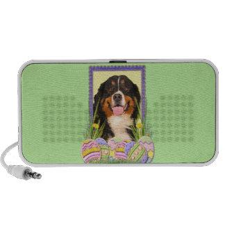 Easter Egg Cookies - Bernese Mountain Dog Mp3 Speaker