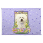 Easter Egg Cookies - Bichon Frise Placemats