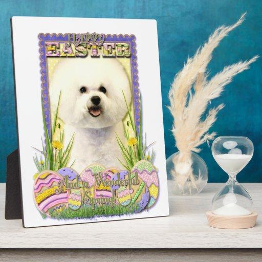 Easter Egg Cookies - Bichon Frise Plaques