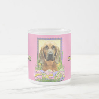 Easter Egg Cookies - Bloodhound - Penny Frosted Glass Coffee Mug