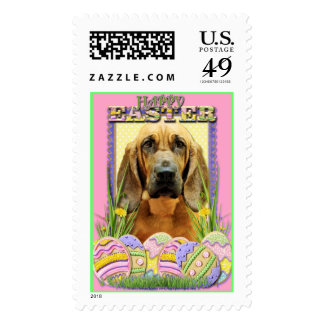 Easter Egg Cookies - Bloodhound - Penny Postage Stamps