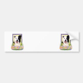 Easter Egg Cookies - Border Collie Bumper Sticker