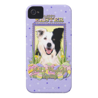 Easter Egg Cookies - Border Collie Case-Mate iPhone 4 Case