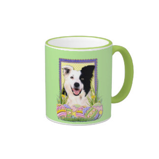Easter Egg Cookies - Border Collie Coffee Mugs