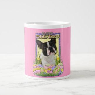 Easter Egg Cookies - Boston Terrier Giant Coffee Mug