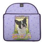 Easter Egg Cookies - Boston Terrier MacBook Pro Sleeve