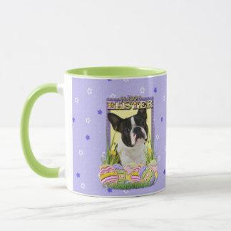 Easter Egg Cookies - Boston Terrier Mug
