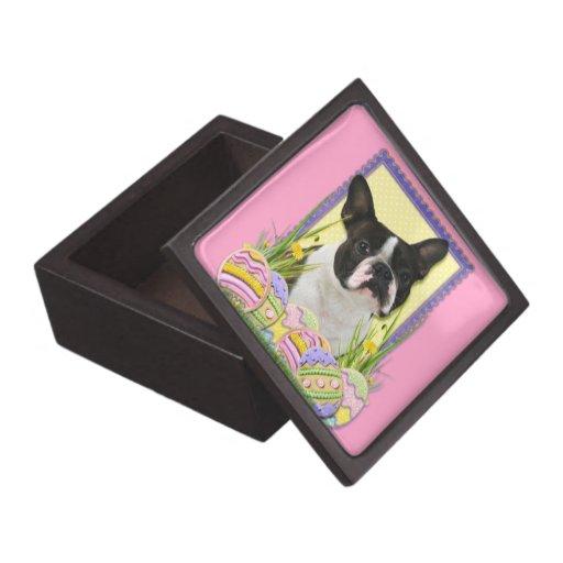 Easter Egg Cookies - Boston Terrier Premium Gift Boxes